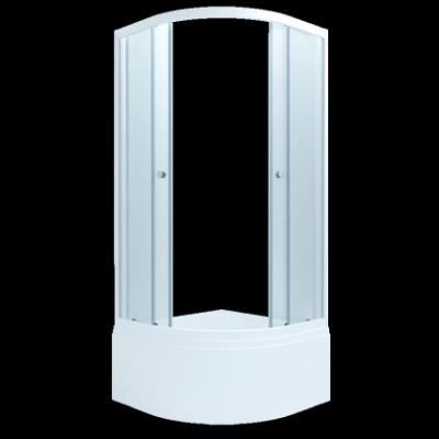 Душевой уголок Triton Вирго 2 без крыши 90 x 90 см