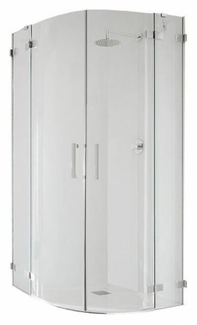 Душевой уголок Radaway Euphoria, 80,5 х 80,5 х 200 см, стекло прозрачное