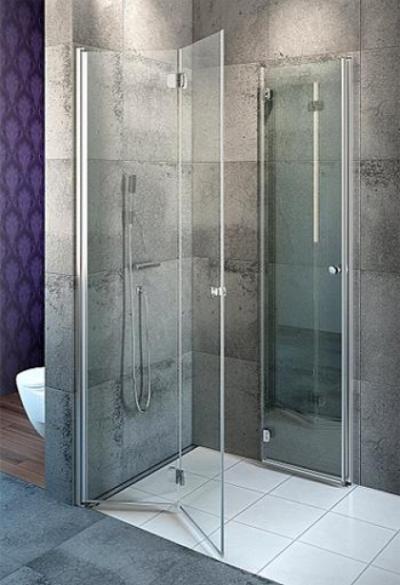 Душевой уголок Radaway EOS KDD-B,  80 x 90 х 197 см, прозрачное стекло