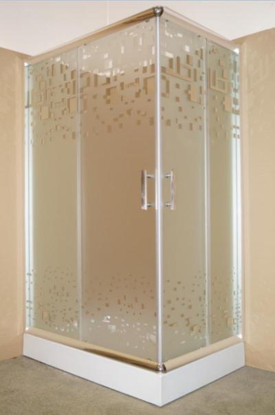 Душевой уголок Parly ZQ121 L/R, 120 х 80 х 195 см, стекло матовое