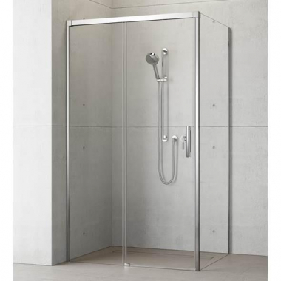 Душевой уголок Radaway Idea KDJ 140 x 75 левый, стекло прозрачное