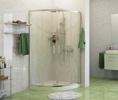 Душевой уголок WasserKRAFT Main 41S01, стекло прозрачное, 90 см