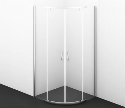 Душевой уголок WasserKRAFT Leine 35P01, 90 см, стекло прозрачное