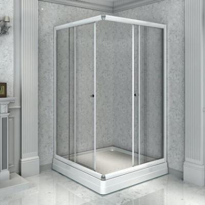 Душевой уголок Радомир 110, 110 х 110 х 196, стекло прозрачное/матовое