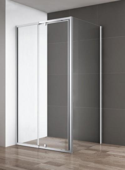 Душевой уголок Cezares Variante, 100 х 100 х 195 см, стекло прозрачное