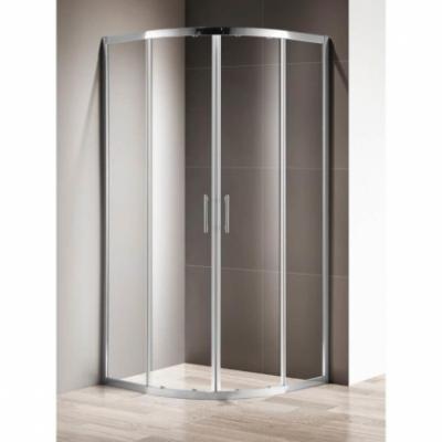 Душевой уголок Cezares Momento-R-2-90-C-Cr 90 х 90 х 195 см стекло прозрачное