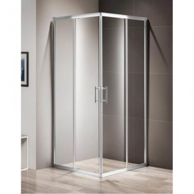 Душевой уголок Cezares Momento-A-2-90-C-Cr 90 х 90 х 195 см, стекло прозрачное