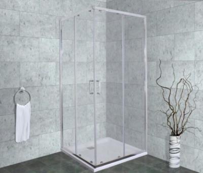 Душевой уголок Timo Altti-611 C Clean Glass, стекло прозрачное, 100 х 100 х 190 см