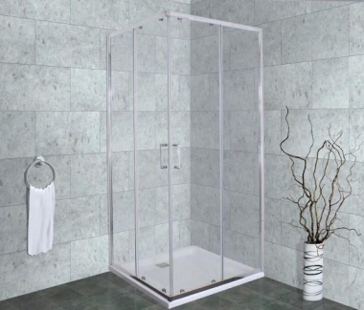Душевой уголок Timo Altti-619 C Clean Glass, стекло прозрачное, 90 х 90 х 190 см