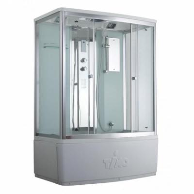 Душевой бокс Timo Comfort T-8850 C Clean Glass, стекло прозрачное, 150 x 88 см