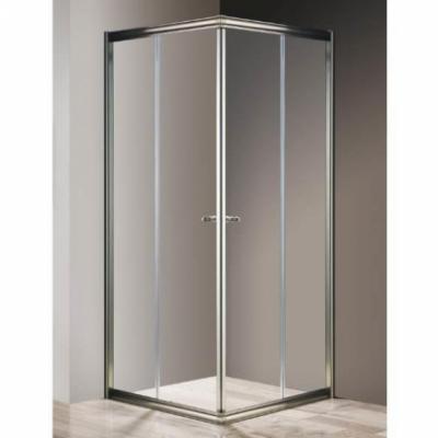 Душевой уголок Cezares GIUBILEO-A-2-90-SCORREVOLE-Cr, 90 х 90 х 195 см, стекло матовое узорчатое