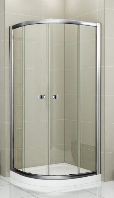 Душевой уголок Cezares PRATICO-GL-R-2-80-C-Cr-TR 80 x 80 см