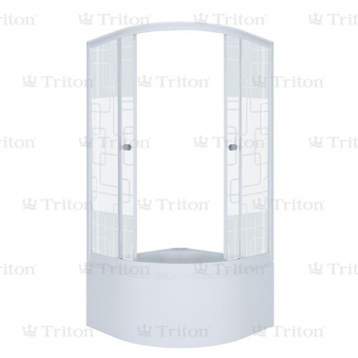 Душевой уголок Triton Квадраты Б1, 90 х 90 см