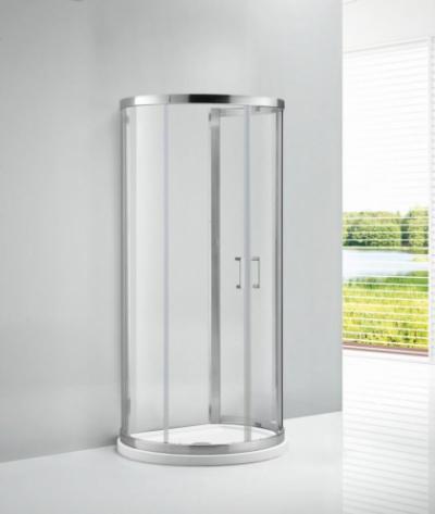 Душевой уголок Cezares ECO-O-2-100/85-C-Cr, 100 х 85 х 190 см, стекло прозрачное