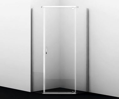 Душевой уголок WasserKRAFT Leine 35P11, пятиугольный, 90 см