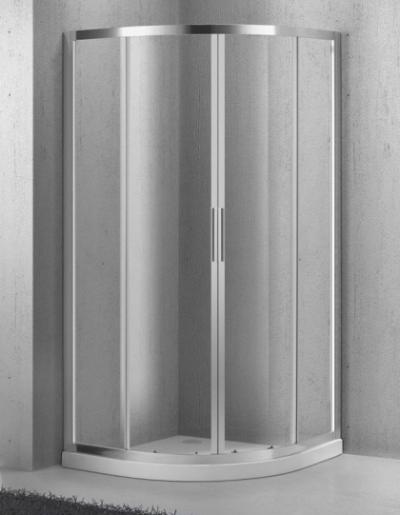 Душевой уголок BelBagno Sela-R-2-95-C-Cr, 95 x 95 x 190 см, стекло прозрачное