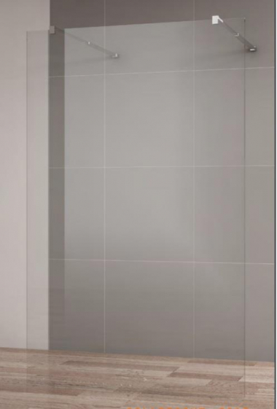 Душевое ограждение Cezares Liberta-L-2-120-C-Cr 120 x 195 см, стекло прозрачное, профиль хром