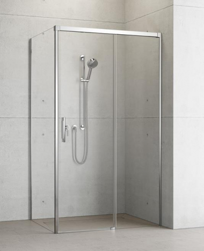 Душевой уголок Radaway Idea KDJ 120 x 80 правый, стекло прозрачное
