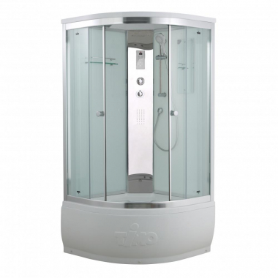 Душевая кабина Timo Comfort T-8800 C Clean Glass, стекло прозрачное, 100 x 100 см