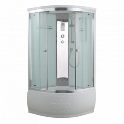 Душевая кабина Timo Comfort T-8800 P C Clean Glass, 100 x 100 см, стекло прозрачное, без электрики и гидромассажа