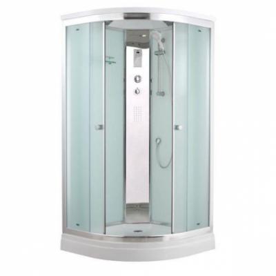 Душевая кабина Timo Comfort T-8801 P C Clean Glass, 100 x 100 см, стекло прозрачное, без электрики и гидромассажа