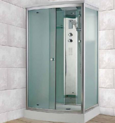 Душевая кабина Timo Comfort T-8815 F Fabric Glass, стекло матовое, 120 x 90 см