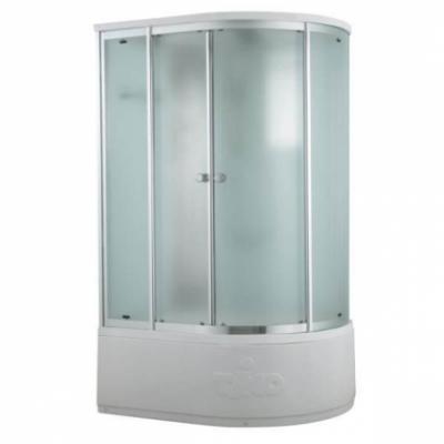 Душевая кабина Timo Comfort T-8820L/R P F Fabric Glass, 120 х 85 см, стекло матовое, без электрики и гидромассажа