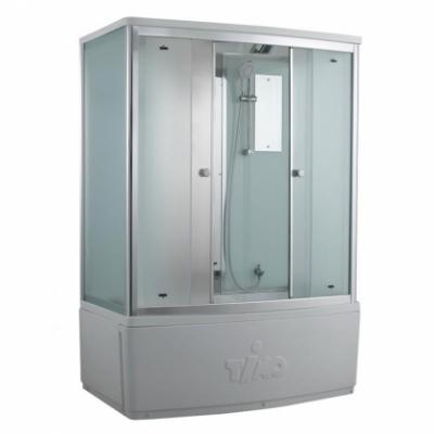 Душевой бокс Timo Comfort T-8840 F Fabric Glass, стекло матовое, 140 x 88 см