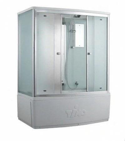 Душевой бокс Timo Comfort T-8870 F Fabric Glass, стекло матовое, 170 x 88 см