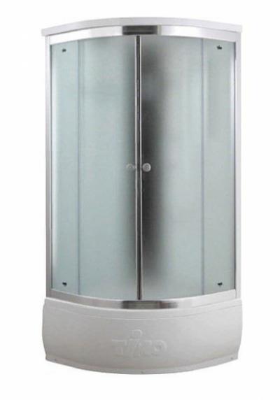 Душевая кабина Timo Comfort T-8880 F Fabric Glass, стекло матовое, 80 x 80 см