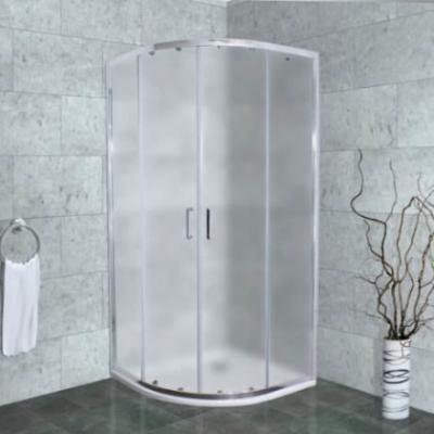 Душевой уголок Timo Altti-608 F Foggy Glass, стекло матовое дымчатое, 80 х 80 х 190 см