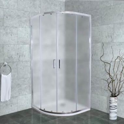 Душевой уголок Timo Altti-609 F Foggy Glass, стекло матовое дымчатое, 90 х 90 х 190 см