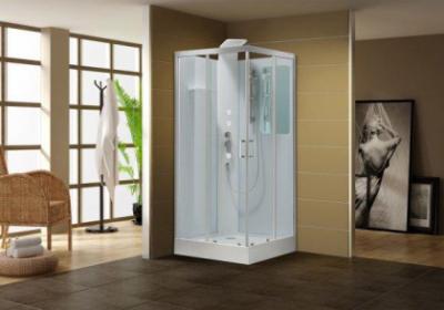 Душевая кабина Aquanet Passion S 90 x 90 см, 213317, с гидромассажем, прозрачное стекло
