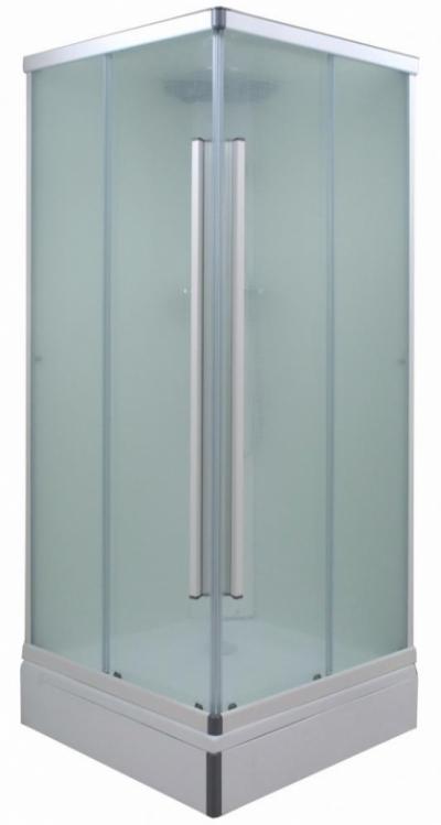 Душевой уголок (ширма) Triton Орион 90 x 90 см, квадрат, стекло лен