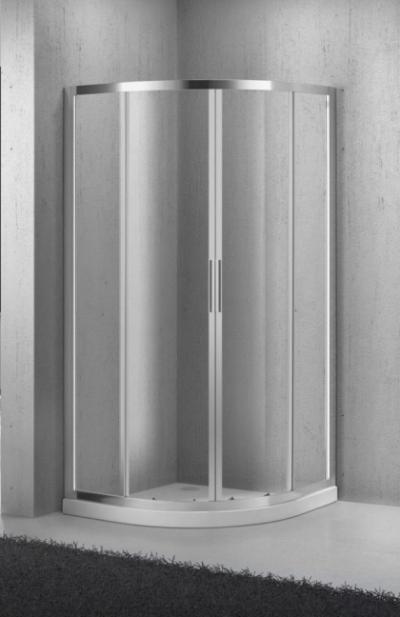 Душевой уголок BelBagno Sela SELA-R-2-95-Ch-Cr, 95 x 95 x 190 см, стекло текстурированное