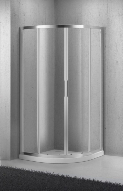 Душевой уголок BelBagno Sela SELA-R-2-85-C-Cr, 85 x 85 x 190 см, стекло прозрачное