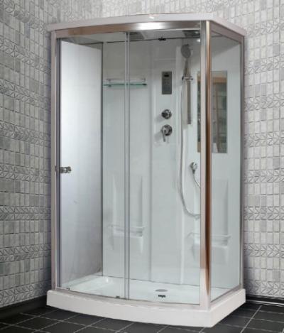 Душевая кабина Timo Lux T-7715 P, 120 x 90 см, стекла прозрачные