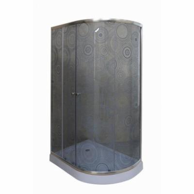 Душевой уголок  Parly RGZ121 L/R c поддоном, 120 х 80 см, стекло узорчатое