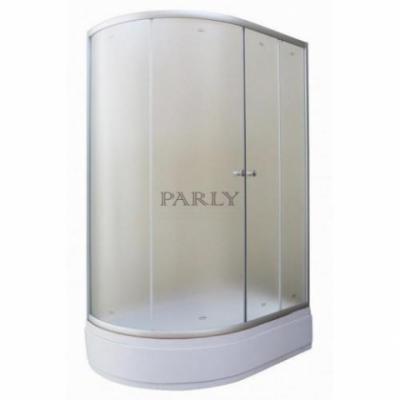 Душевой уголок Parly ZEM120 L/R, 120 х 80 см, стекло матовое
