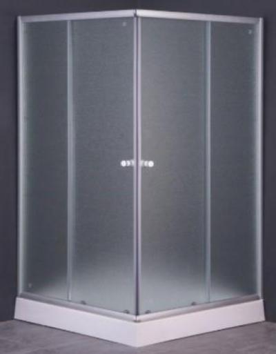 Душевой уголок Parly ZEQ811, 80 х 80 см, стекло матовое