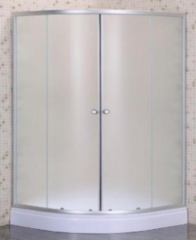 Душевой уголок Parly ZE911, 90 х 90 см, стекло матовое