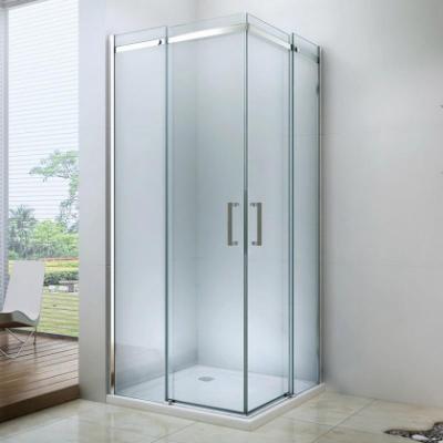 Душевой уголок Berges Wasserhaus Melita 061028, 90 х 90 х 195 см, стекло прозрачное