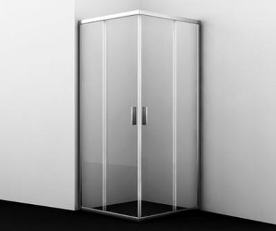 Душевой уголок WasserKRAFT Lippe 45S02, квадратный, стекло прозрачное, 80 см