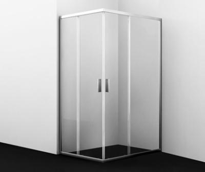 Душевой уголок WasserKRAFT Lippe 45S07, прямоугольный, стекло прозрачное, 90 см