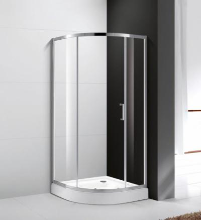 Душевой уголок Cezares Molveno-R-1-90-C-Cr-IV, 90 х 90 см, стекло прозрачное, хром