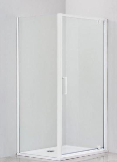 Душевой уголок Cezares Relax RELAX-AA-1-80-C-Bi-IV, 80 х 80 см, стекло прозрачное, цвет профиля белый