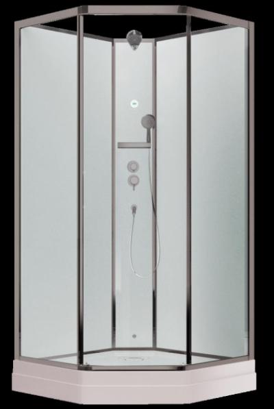 Душевая кабина Timo Ilma 709, 90 x 90 см, стекло прозрачное