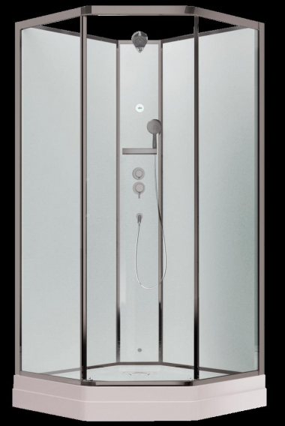Душевая кабина Timo Ilma 701, 100 x 100 см, стекло прозрачное