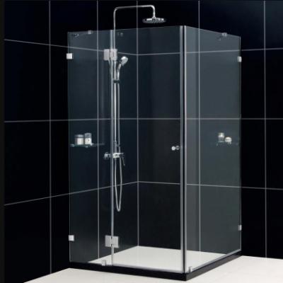 Душевой уголок RGW HO-44, 01064490-11, 90 х 100 x 195 см, дверь распашная, стекло прозрачное, хром