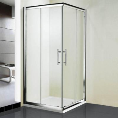 Душевой уголок RGW HO-31, 03063188-11, 80 х 80 x 195 см, дверь раздвижная, стекло прозрачное, хром